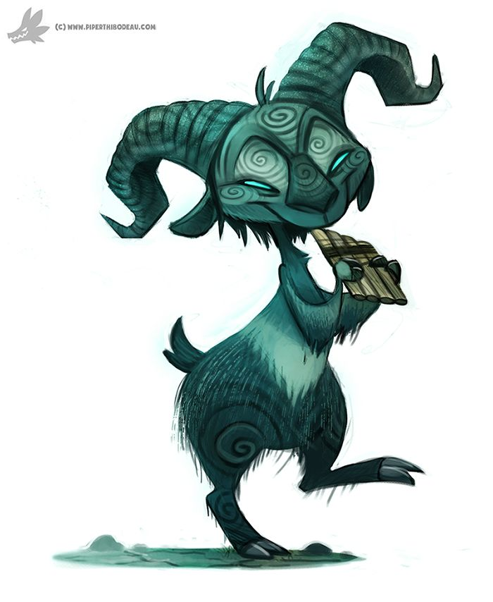 Daily Painting #926. Pan's Labyrinth by Cryptid-Creations.deviantart.com on @DeviantArt