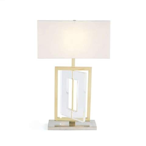 Modern Brass Acrylic Table Lamp Acrylic Table Brass Table Lamps