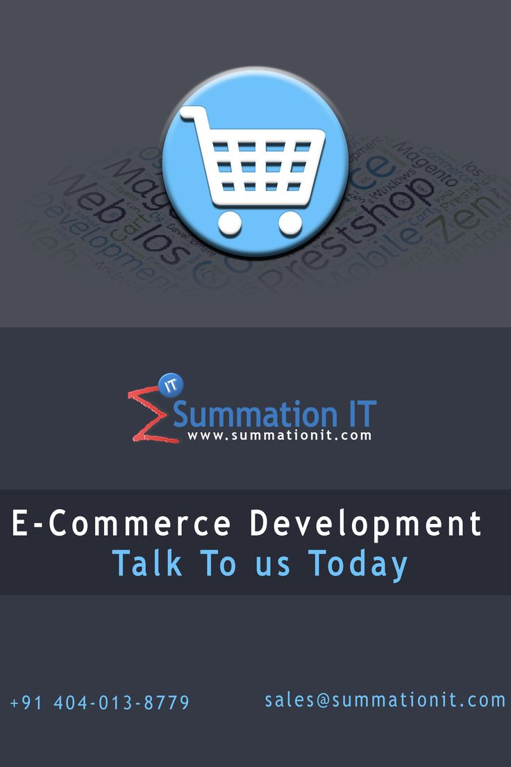 #ECommerce #Development is a buzz word now. #Startups have mushroomed everywhere #selling products and services #online. If you would like to sell your products or services #online then you need an #ecommerce #website which is the first stop for your business. An effective #ecommerce #website contains features like #paymentgateway integration, displaying unlimited product categories, subcategory creation, unlimited product pages, automatic email alert to admin on purchase, change orders etc.