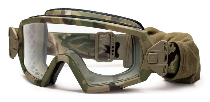 Outside the Wire Goggles, Clear Lens - Multicam - Tactical Distributors- Tactical Gear