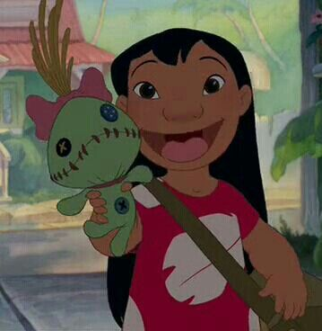 Lilo's Doll- Scrump! Proof that Lilo is the cutest little cartoon girl!