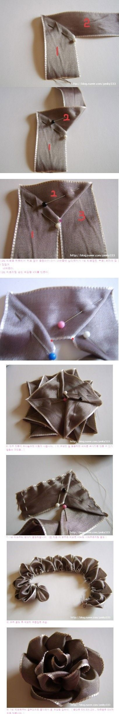 textured ribbon tutorial
