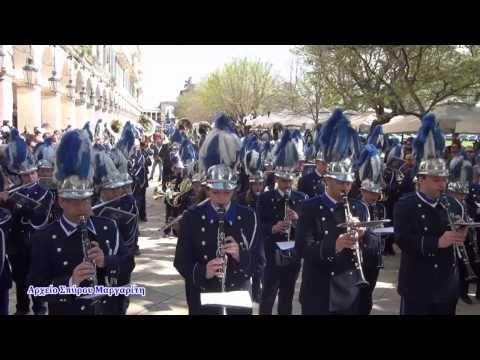 """Φιλαρμονική Εταιρία """"Μάντζαρος"""" Εμβατήριο """"Moskva"""" Κυριακή Πάσχα 2015 - YouTube"""