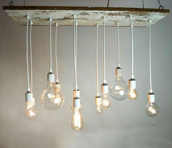 This is cool >> Barnwood Chandelier