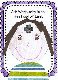 Faith Filled Freebies: Ash Wednesday Craft