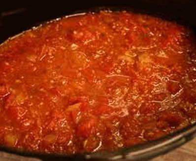 Delicious, Quick Marinara Sauce. Roast Tomatoes and can add Roasted Garlic.