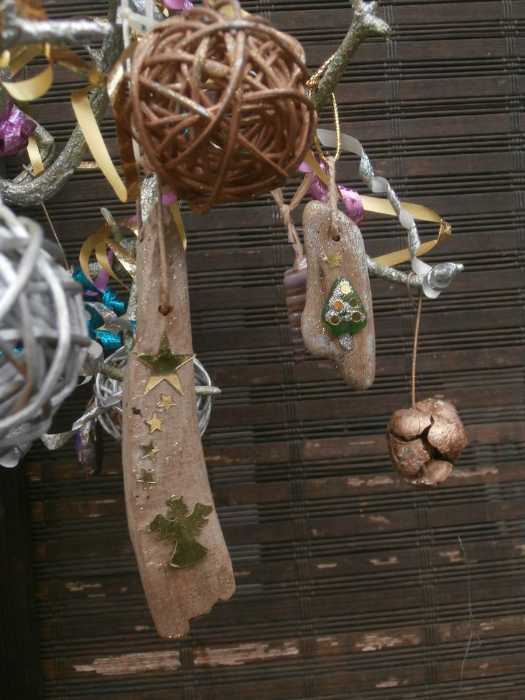 Driftwood Christmas Tree Decorations