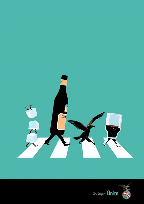 Abbey Road Fernet Branca Arte Único 2011