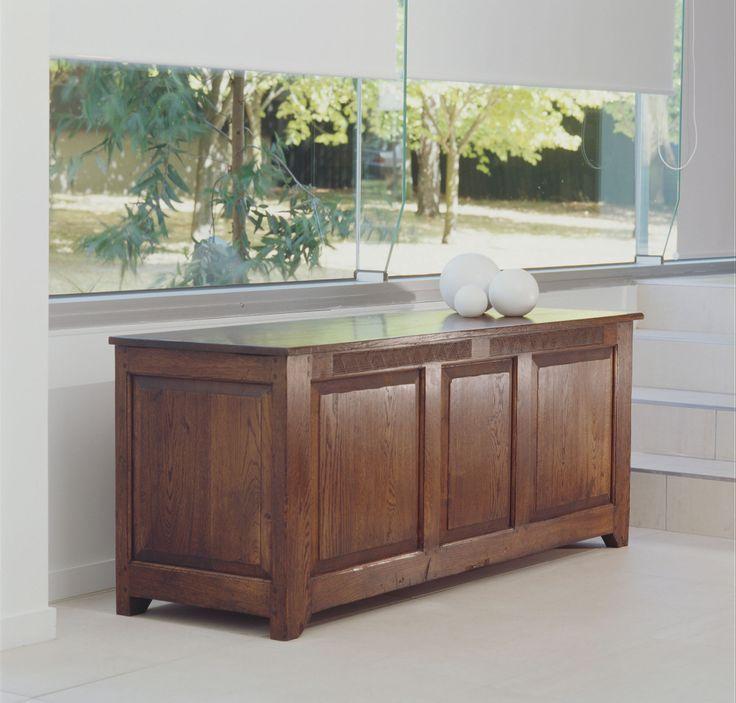 Coffer with Fielded Panels - French oak