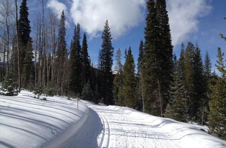 Skate Skiing at Snow Mountain Ranch's Nordic Center | 5280 #Colorado