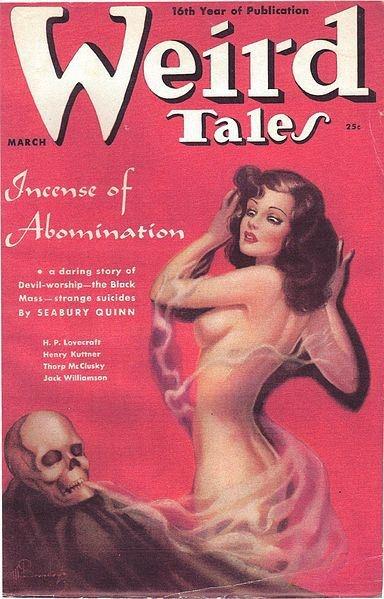 Margaret Brundage : Weird Tales, Mar. 1938