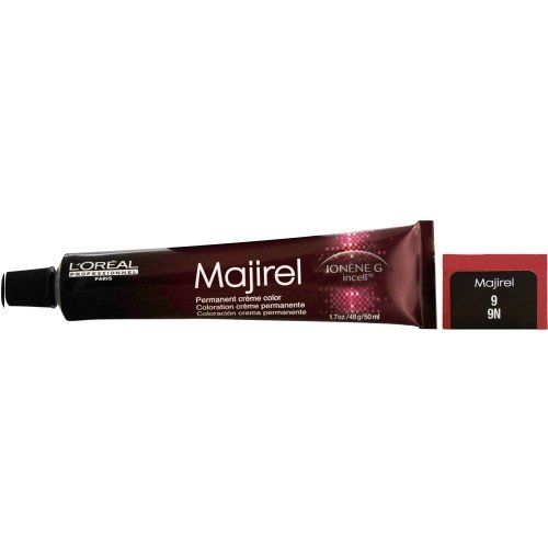 Loreal Majirel Ionene G Incell Permanent Creme Color 9/9N 1.7 oz -- Click image for more details. #hairdo