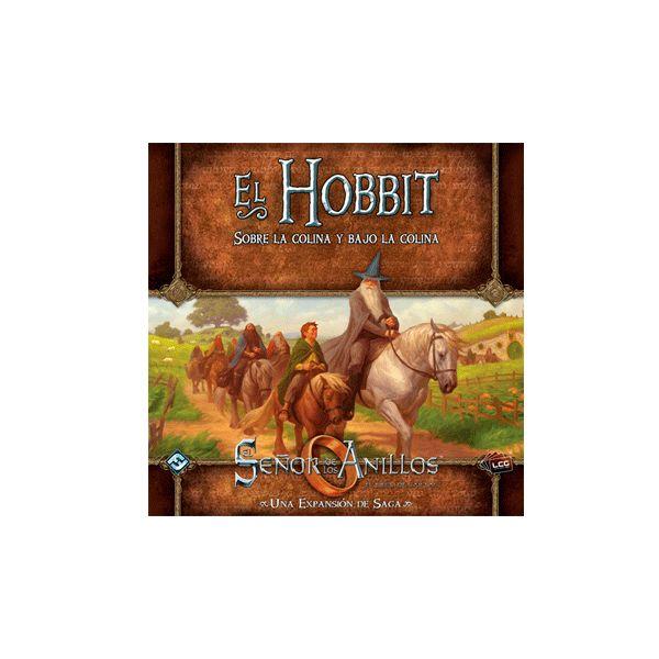 El Señor de los Anillos LCG: El Hobbit. Sobre la Colina y Bajo la Colina El Señor de los Anillos – El Hobbit: Sobre la colina y bajo la colina contiene tres nuevos escenarios que siguen las aventuras relatadas en El Hobbit, la clásica novela de J.R.R. Tolkien.
