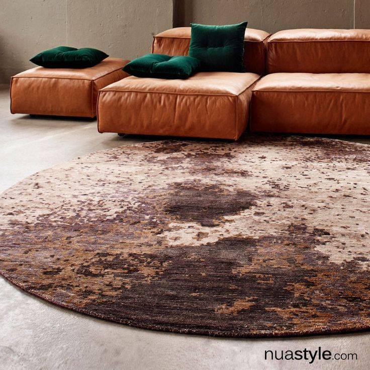 Copper Moon Round Rug By Massimo This Stunning Rug Is An Imaginative Take On A Moon Motif Its Soft Sparkling Metallic Ton Stunning Rugs Round Rugs Indoor Rugs