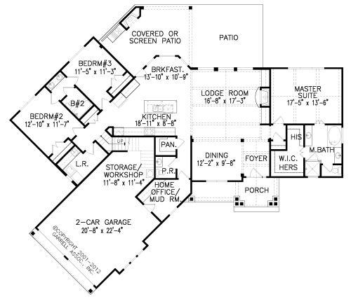 Award Winning Open Floor Plans: 17 Best Images About Retirement House Plans On Pinterest