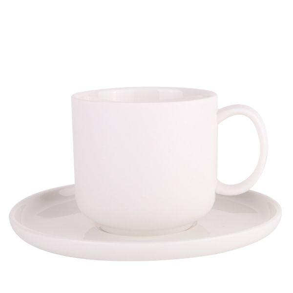Emerson Teacup & Saucer 200ml - White