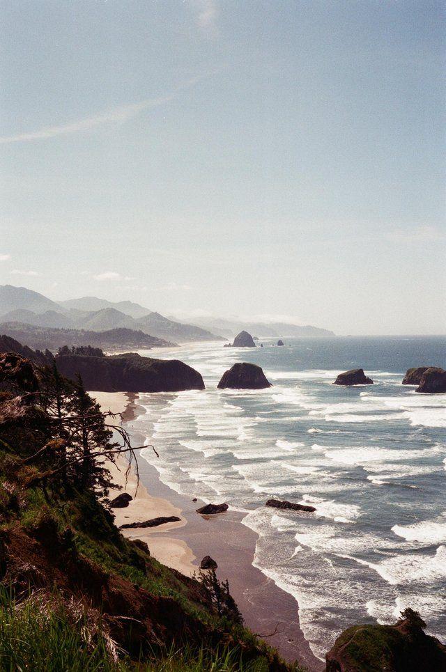 35mm Film Photography Landscape Oregon Coast Canon Giii Ql17 Superia400 Analog Filmphotography Fuji Film Photography 35mm 35mm Photography Nature Film
