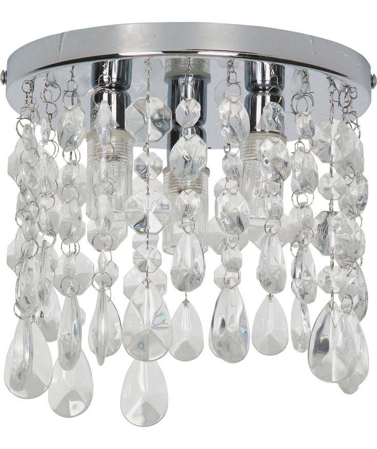 Buy Heart Of House Venetia 3 Light Ceiling Fitting Chrome At Argos Co