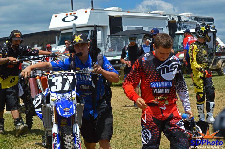 Cooper Webb and Mechanic