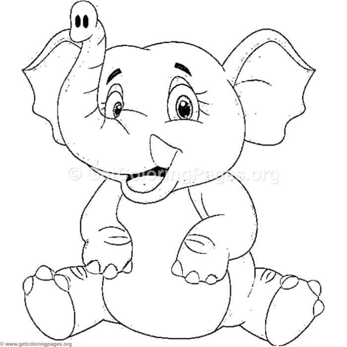 Free Download Happy Elephant Sitting Coloring Pages Coloring Coloringbook Coloringpages Elephant Coloring Page Mickey Coloring Pages Animal Coloring Pages