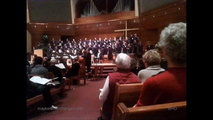 Northwestern College Choir/Orchestra performing 'Meteor Shower'