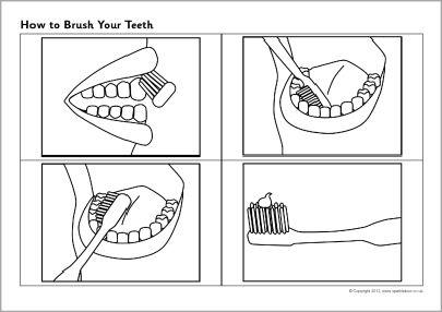 Comment se brosser les dents feuilles de séquençage (SB7313) - SparkleBox
