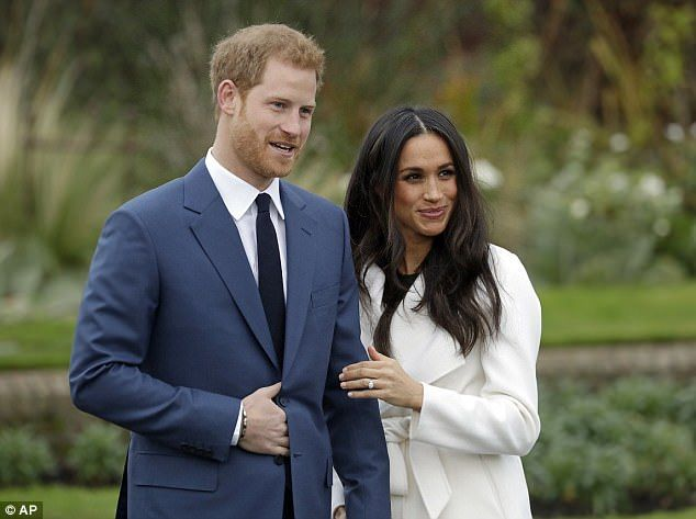 Prince Harry and Meghan Markle officially announced their engagement at Kensington Palace in London, on Monday