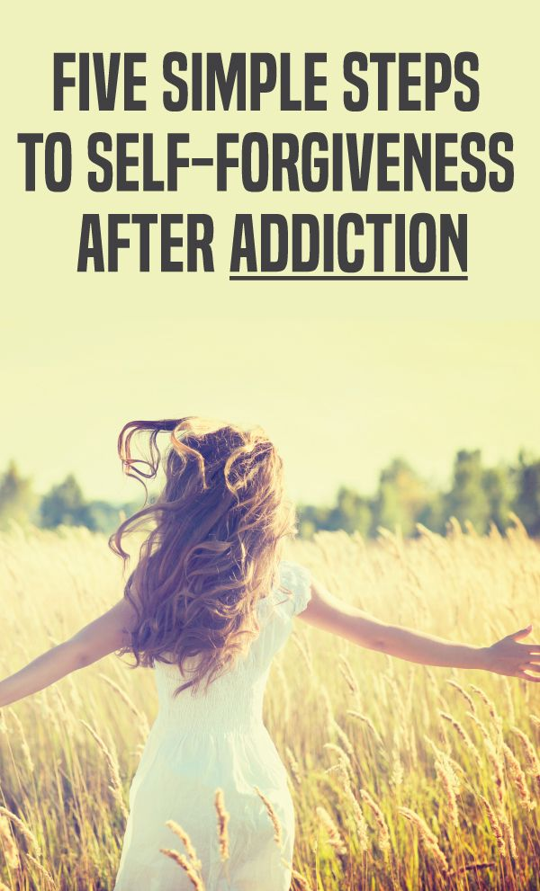 Addiction Recovery Blog: Here are the five easy ways to forgive yourself and move on with your life during and after recovery. https://recoveryexperts.com/rebuzz/tips/five-simple-steps-to-self-forgiveness-after-addiction