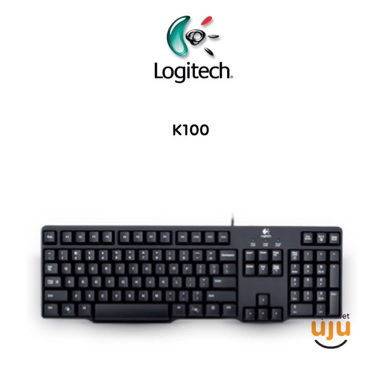 Logitech Classic Keyboard K100 PS2 IDR 95.000