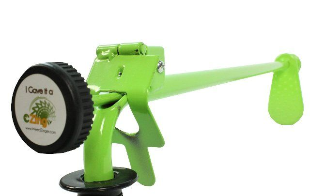 Weed Zinger Weeding Tool Extra Long Spring Release Weed Puller Gardening For Disabled