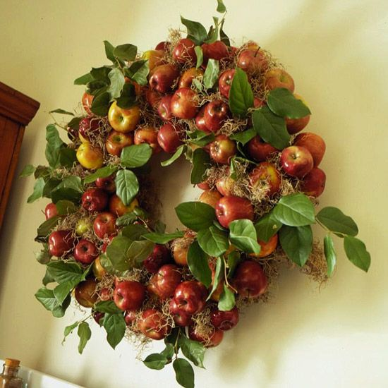 apple wreath