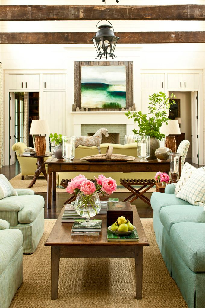17 Best ideas about Southern Living Rooms