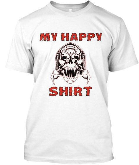 HAPPY SKULL   Teespring LIMITED EDITION!! ONLY 7 DAYS!! #SKULLS #TEENS #HAPPINESS