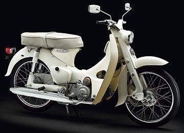 Honda Super Cub 50- cc  60 Million since 1958
