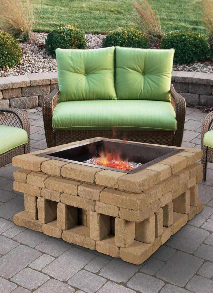 Cleaning Fire Pit : Define your outdoor space with the clean design of a