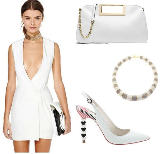 """Follow me @fashcomments on IG Now or Elena Cattalani-fashion writer on FB """"White Night Out"""""""