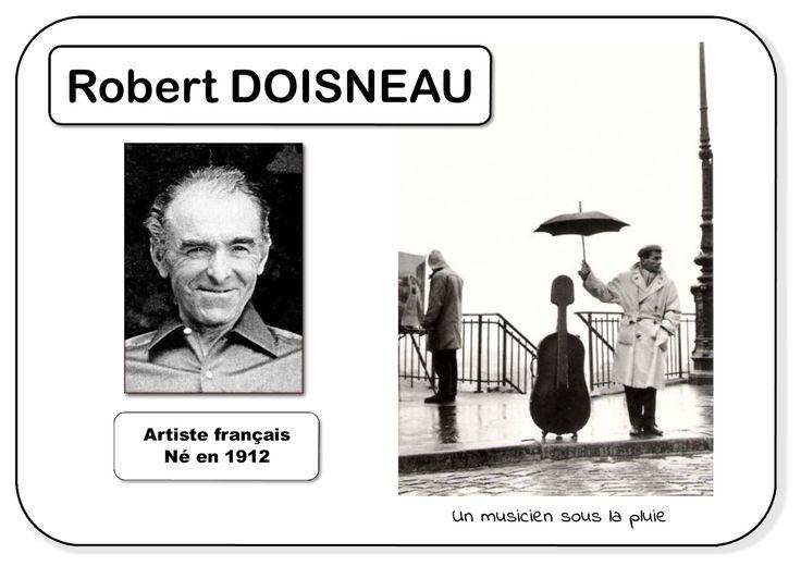 Robert Doisneau - Portrait d'artiste