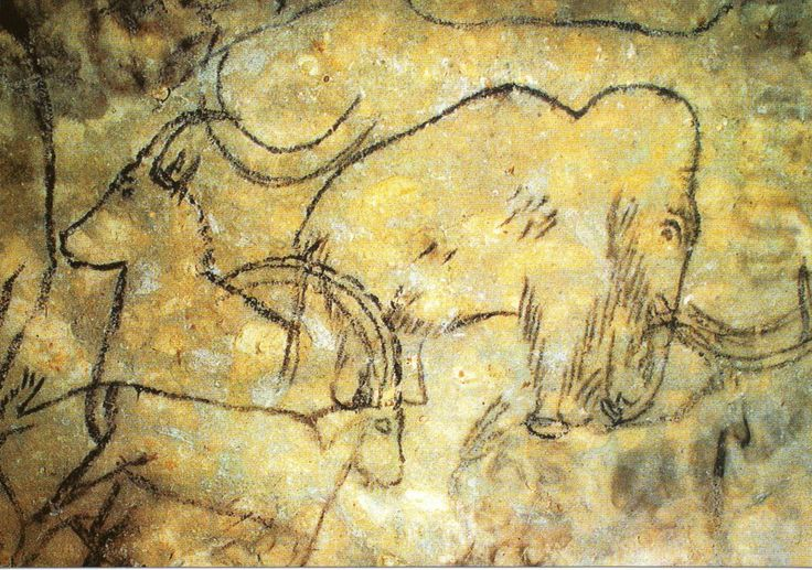 Ancient Cave Paintings // Roufignac, France.