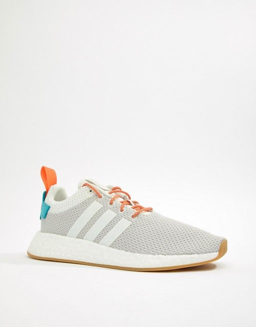 aac4c289e9a1a adidas Originals - NMD R2 Boost Summer Sneakers In White -  130.00