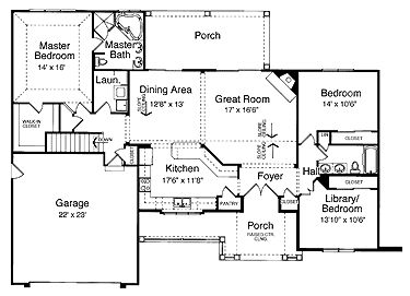 One Story House Plans With Bat Garage likewise 2 Bedroom House Plans Under 1200 Sq Ft additionally Log Home Plans 2000 Square Foot also Popular Craftsman Home Plans additionally Open Floor Plans. on 1700 sq ft ranch house plans