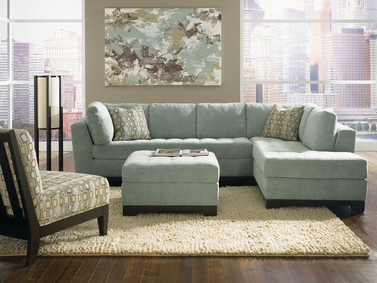 'Gabrielle' Sectional. Available with RAF or LAF Chaise ...