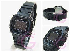 【箱無し品】CASIO(カシオ)LA-20WH-1B/LA20WH-1Bスタンダードデジタルブラック×ブラックダイアルレディースウォッチチープカシオ腕時計