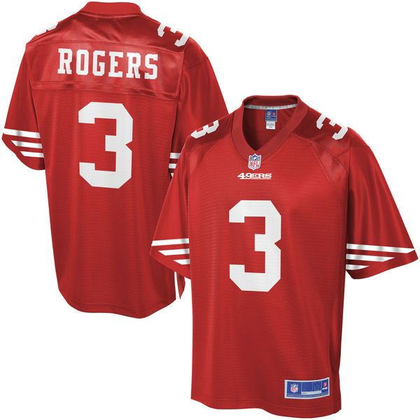 Eric Rogers San Francisco 49ers NFL Pro Line Youth Player Jersey - Scarlet - $74.99