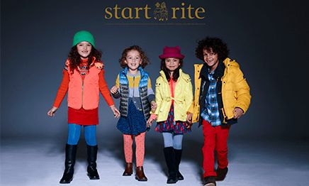Win a year's supply of shoes from Start-rite - that's five shoe vouchers! 2 vouchers for a pair of leather shoes, 1 voucher for a pair of boots, 1 voucher for a pair of canvas shoes, and 1 voucher for a pair of sandals.      Closing Date 1 December 2014