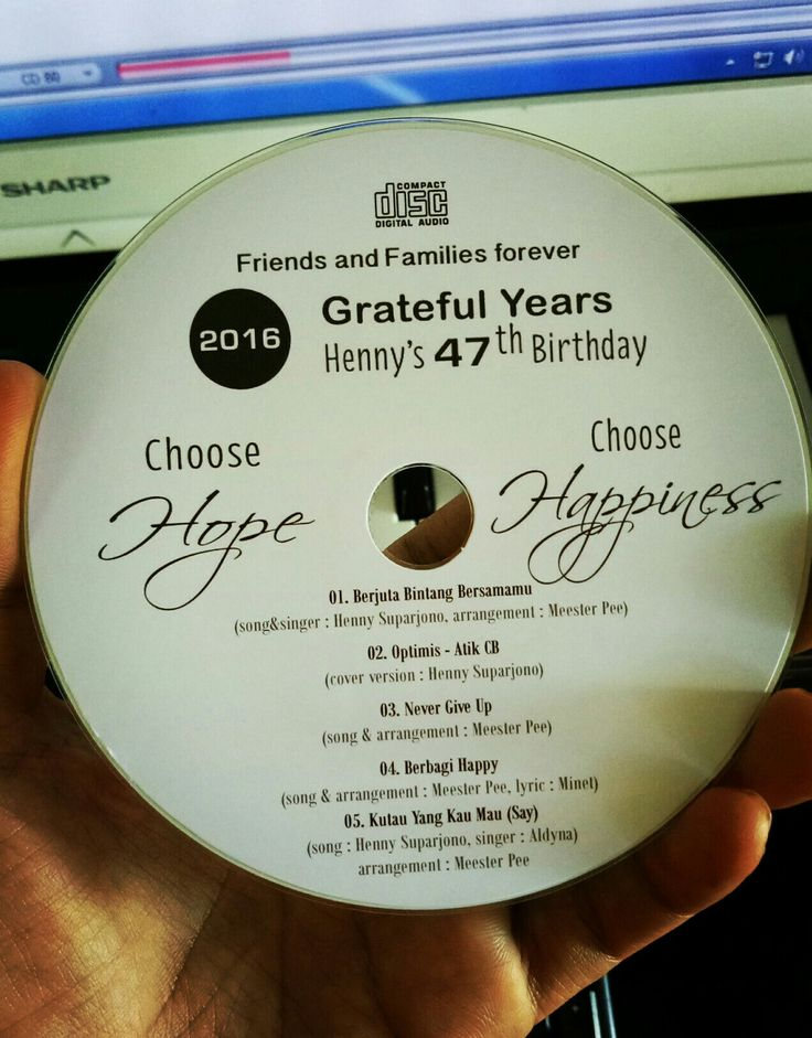 choose hope choose happiness