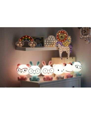 7885663f887416 Lampka nocna biurkowa dziecięca KRÓLIK LED 2,5W dla dzieci | LAMPY w ...