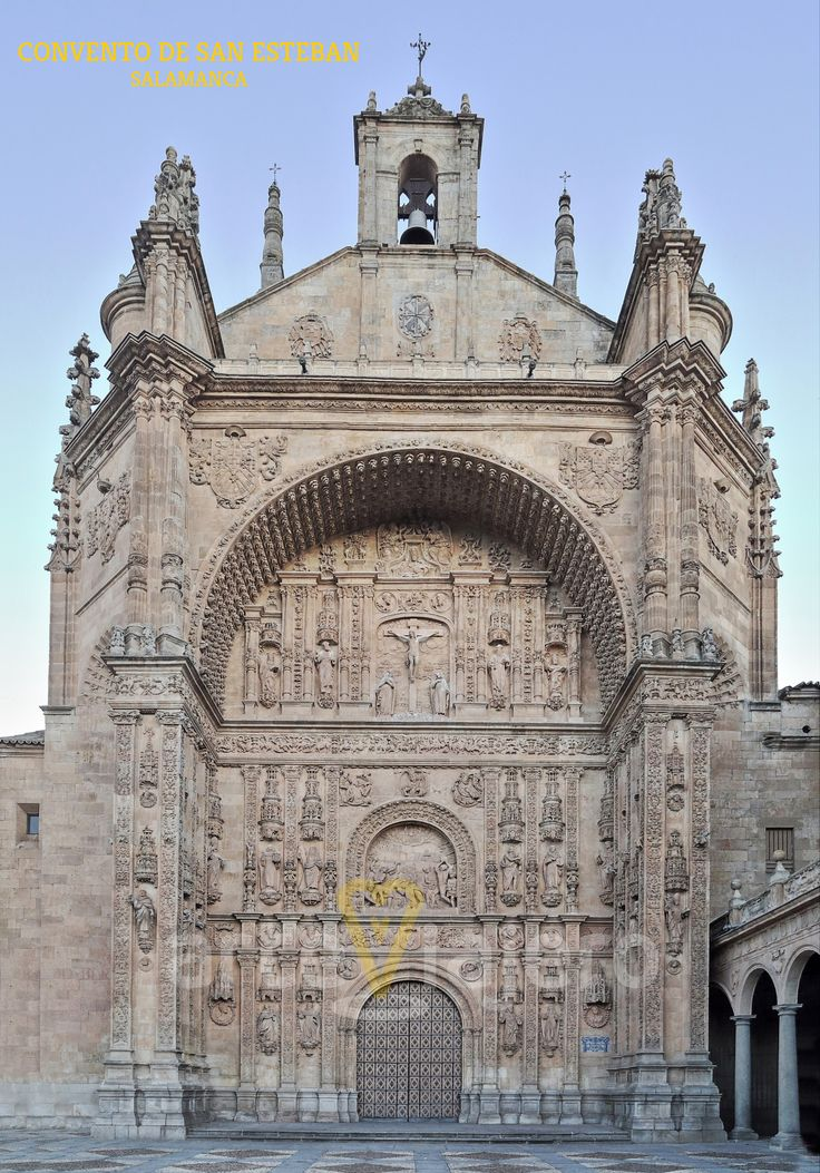Convento de San Esteban, una de las maravillas arquitectónicas de la ciudad de #Salamanca http://arteviajero.com/