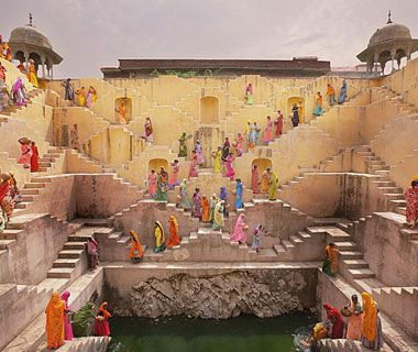 Jaipur - this scene was recently in The Best Exotic Marigold Hotel.