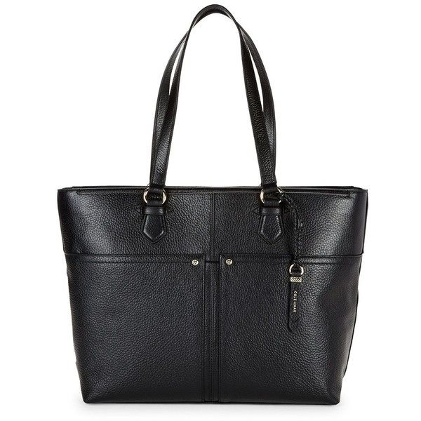 Cole Haan Ilianna Work Tote (185 CAD) ❤ liked on Polyvore featuring bags, handbags, tote bags, handbag purse, cole haan tote bag, man bag, cole haan purses and cole haan
