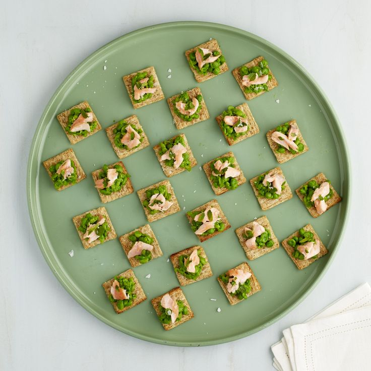 Pea Recipe. Visit TriscuitSummerSnackoff.com for more inspiration from Martha @TRISCUIT